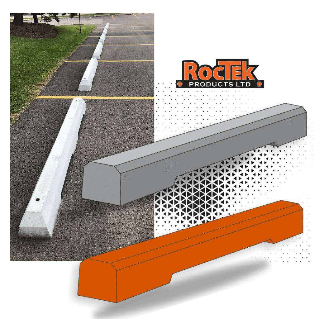 Precast Concrete Parking Curbs (2)