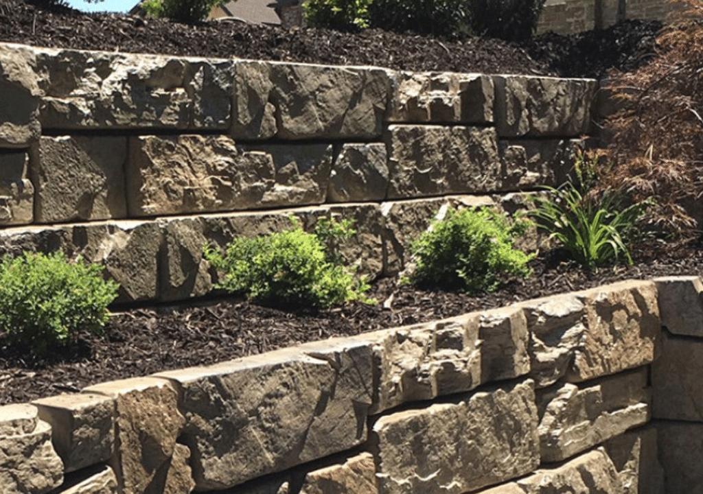 Verti Block Retaining Wall Landscaping